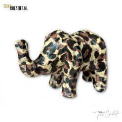 Trixx Creatief - AP152 Décopatch Olifant