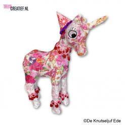 De Knutseljuf - Kinder Workshops - AP147 Décopatch Eenhoorn Unicorn