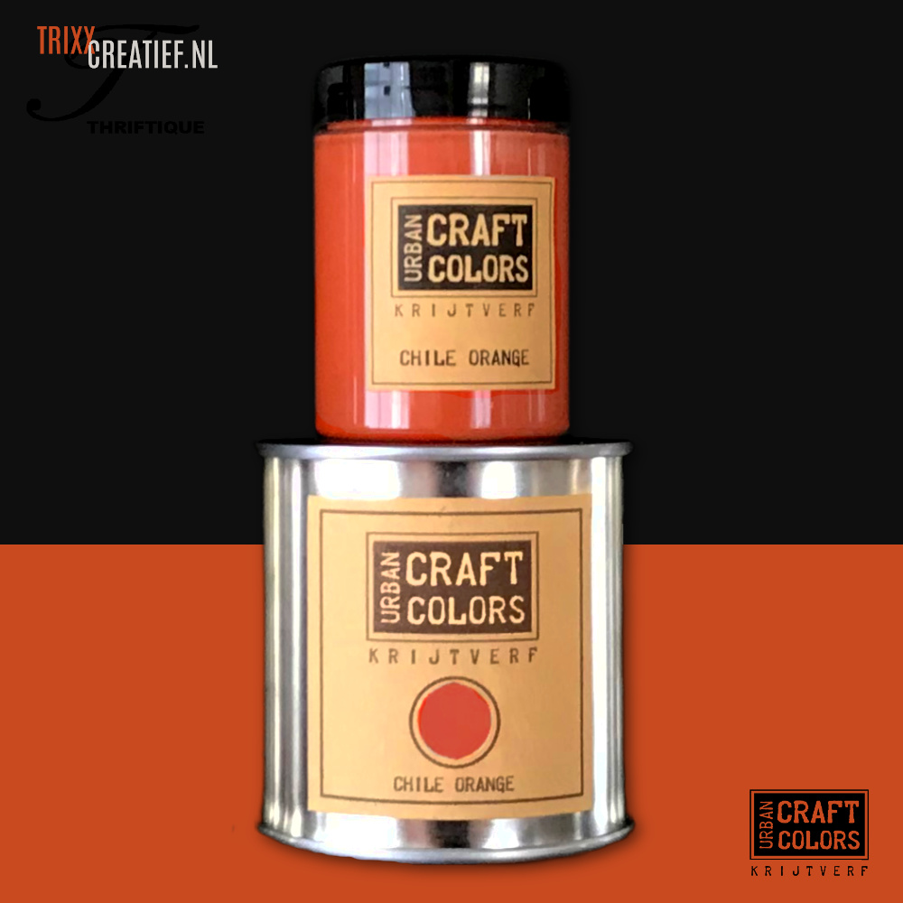 Urban Craft Colors - Chile Orange - Black