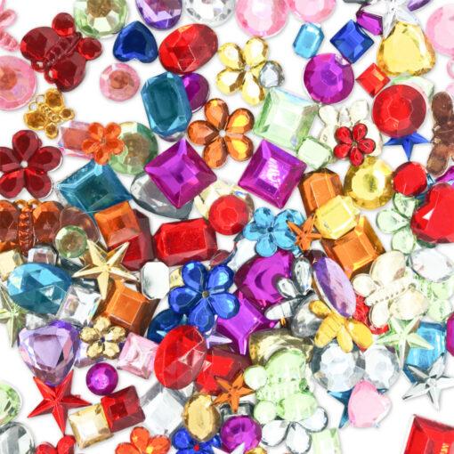52239.35 Strass Stenen Mix van diverse vormen - Assorti