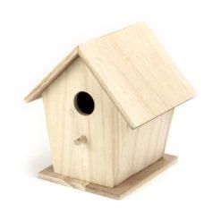 8630-71 Vogelhuis 18 cm - Hout