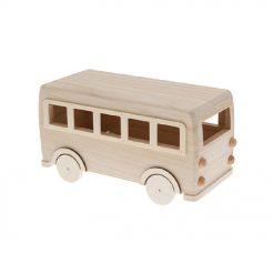 863402 Volkswagen Bus DIY Kit - Hout
