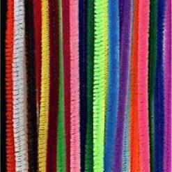 12271-7151 Chenille 0.6 x 30 cm - 26 Stuks - Multicolor