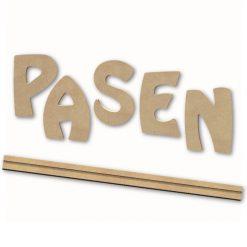 PKT08 MDF Letters Tekst 15 cm - PASEN - Gomille
